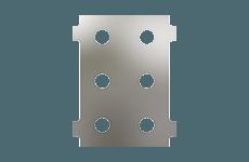 Panel Configuration 6 Port Vertical Thumbnail