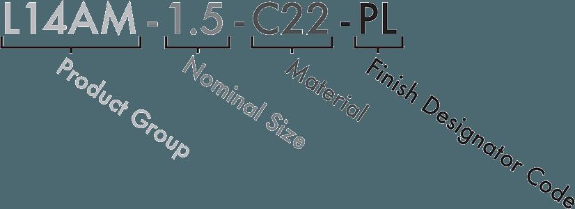 C22 Part Number Designator