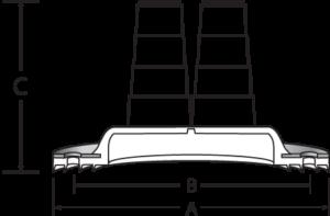 Multi Grommet Dimensions