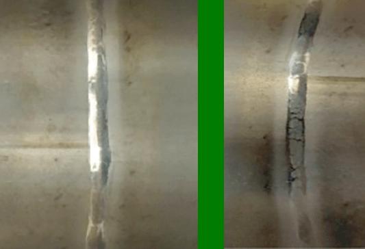 Hastelloy C-22 Weld Inside Diameter