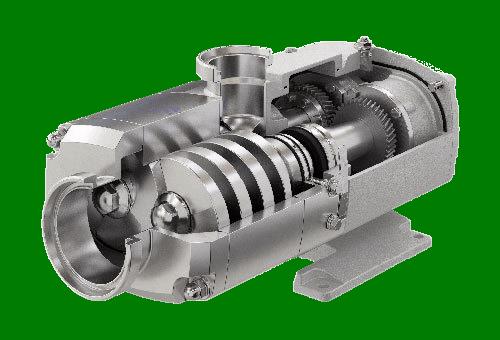 Alfa Laval OS Series Twin Screw Pump