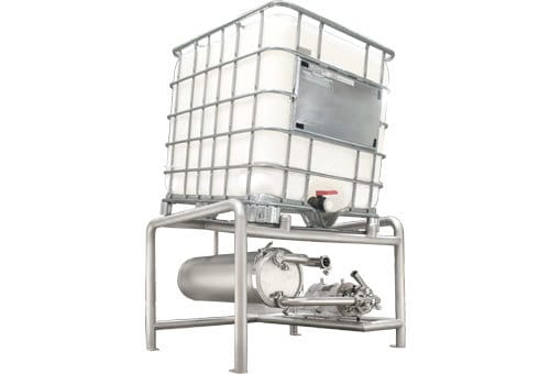 TrueClean Tote Stands - Bulk Container Unloading