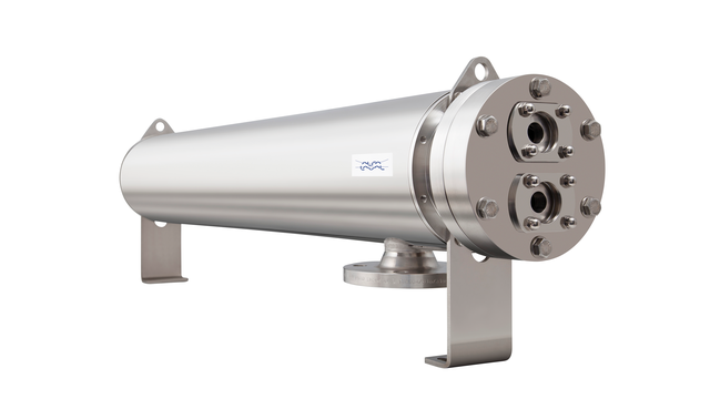 Alfa Laval Double Tube Sheets Heat Exchanger