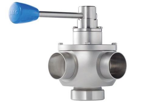 Thumbnail of Free Flow Shutter (Arc) Valve.